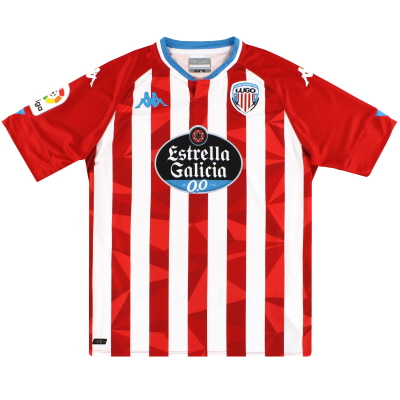 2020-21 CD Lugo Kappa Kombat Pro Home Shirt *As New* L