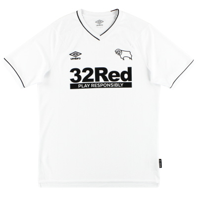 2020-21 Derby County Umbro Home Shirt *As New*