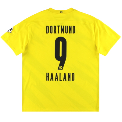 2020-21 Dortmund Puma Home Shirt Haaland #9 XXL