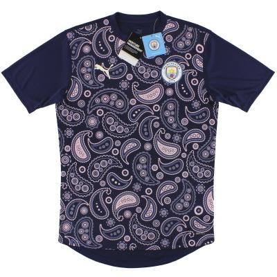 2020-21 Manchester City Puma Pre-match Shirt  *BNIB*