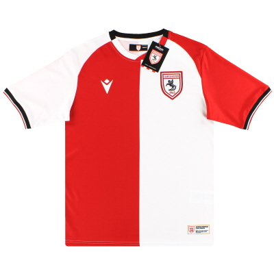 2020-21 Samsunspor Macron '55yr Commemorative' Away Shirt *w/tags*