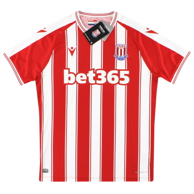 2020-21 Stoke City Macron Home Authentic Shirt *w/tags*