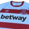 2020-21 West Ham Umbro '125 Years Away Shirt L/S *As New* S