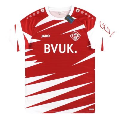 2020-21 Wurzburger Kickers Jako Home Shirt *w/tags* L