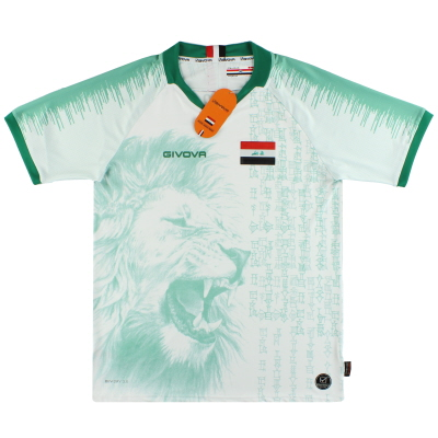 2020 Iraq Givova Home Shirt *BNIB*