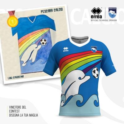 2020 Pescara Special Edition Rainbow Shirt *BNIB* (Pre-Order) XL.Boys