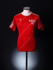 Circa 1986-87 Malta Match Worn Home Shirt #13 L