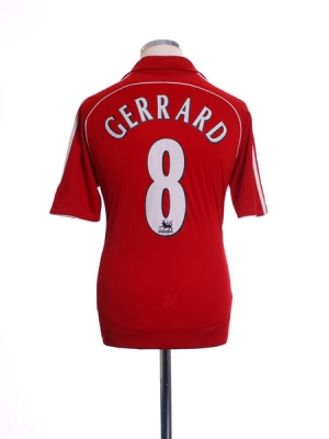 96dcde3a3 Classic and Retro Steven Gerrard Football Shirts   Vintage Football ...